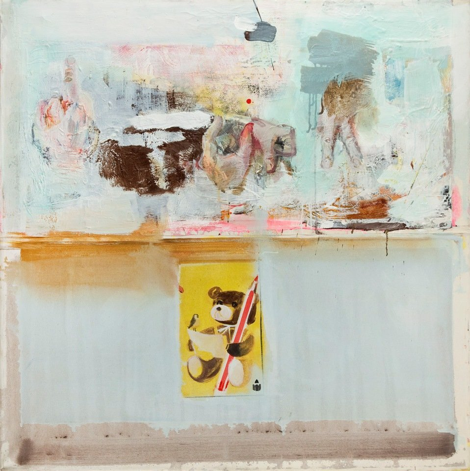 Radek Szlaga (b. 1979, Gliwice) Untitled, 2008  mixed