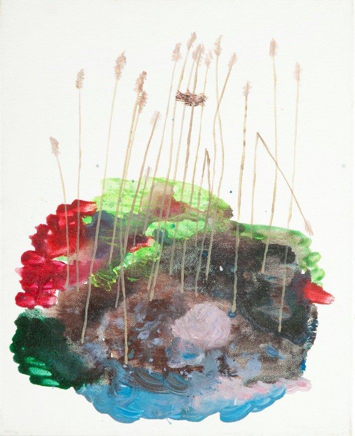 Pawel Sliwinski (b. 1984, Chelm) Untitled, 2007 oil on
