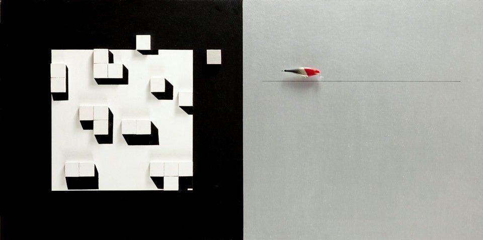 Radoslaw Sowiak, Dream about Kazimierz M, 1992  mixed