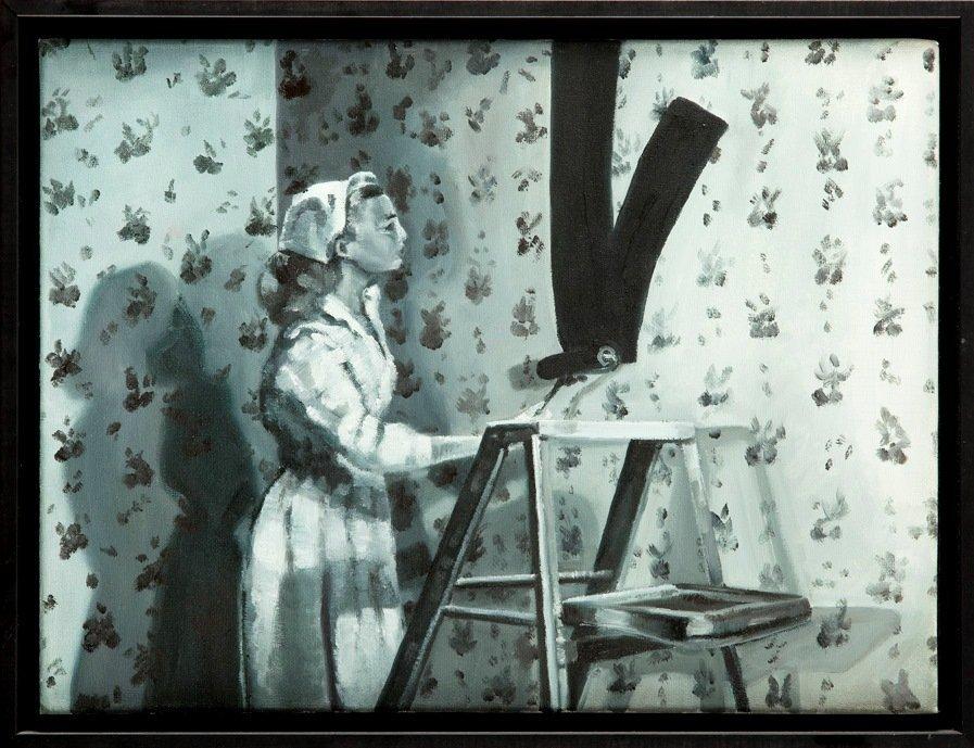Paulina Sadowska (b. 1985) Untitled, 2009  oil on
