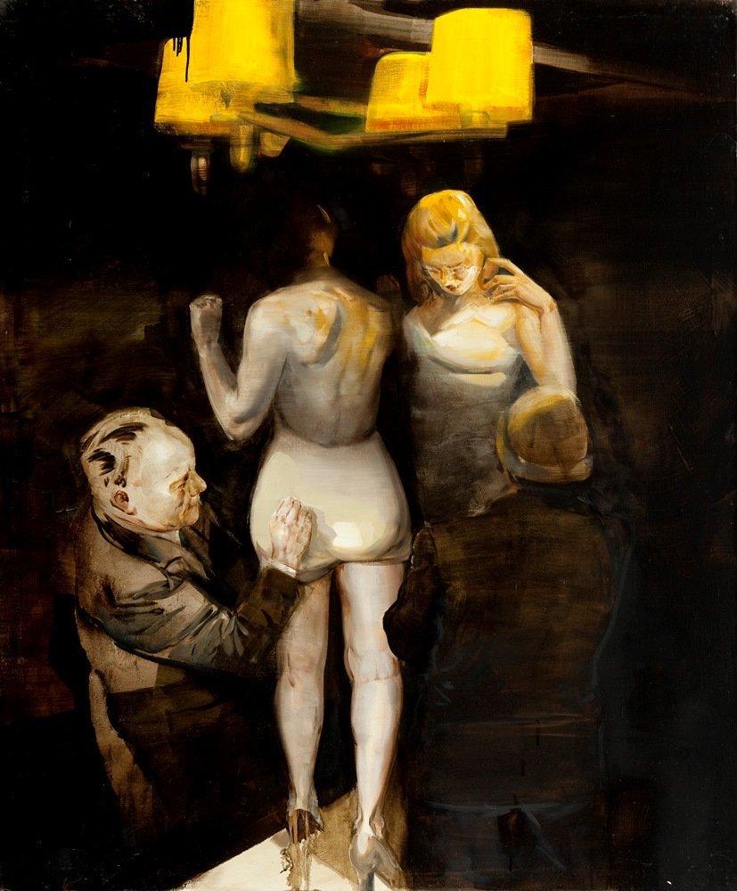 Jan Szczepkowski (b. 1975, Sanok) Night games, 2013