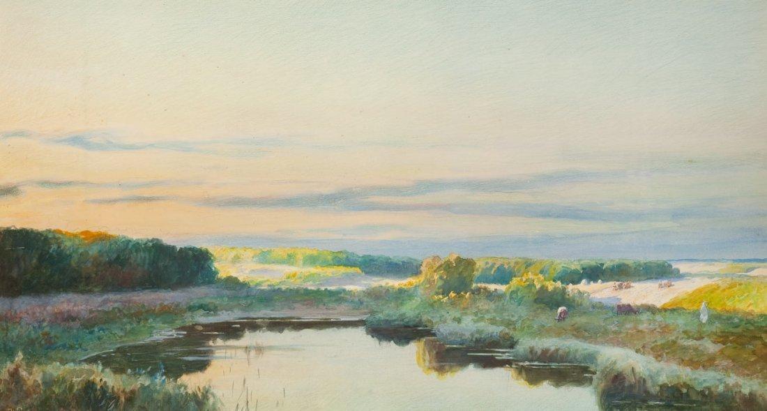 "Michal Pociecha (1852 Krakow - 1908 Krakow) ""Jezioro"","