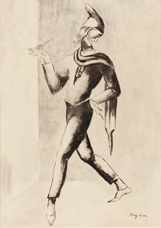 Eugeniusz Zak (1884 Mohylno na Bialorusi – 1926 Paryz)