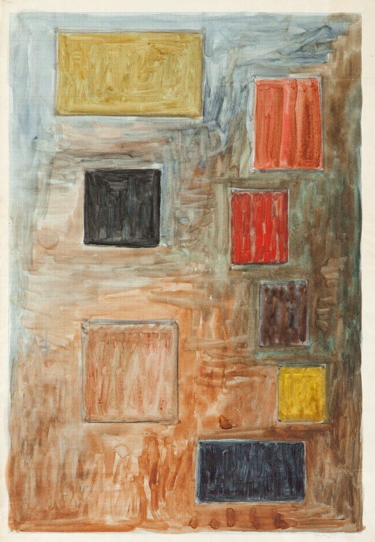 Adam Marczynski (1908 Krakow - 1985 Krakow) Abstraction