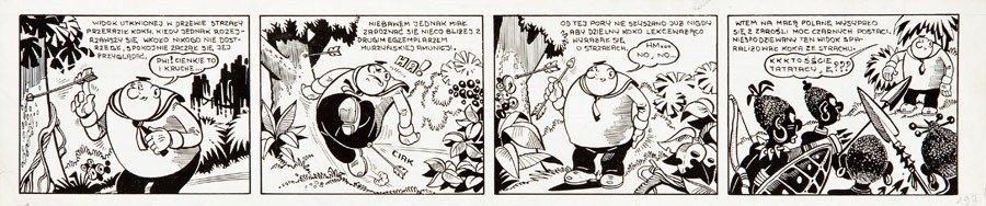 Janusz Christa (1934 Wilno- 2008 Sopot) Kajtek i Koko -