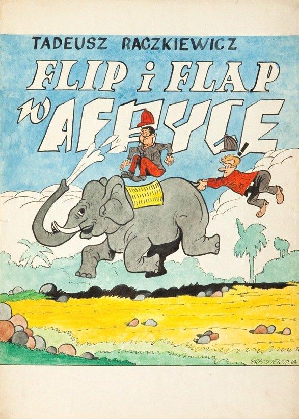 Tadeusz Raczkiewicz ( b. 1949, Gubin) Flip & Flap in