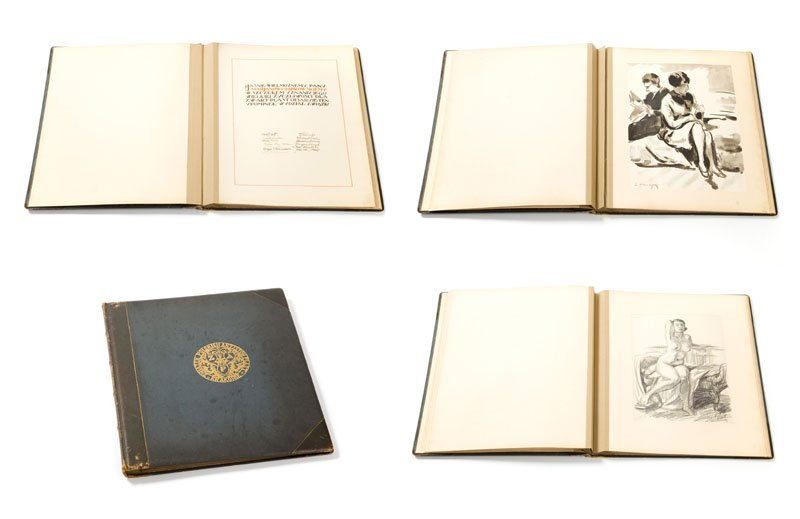 Art book includes works of artists associated in