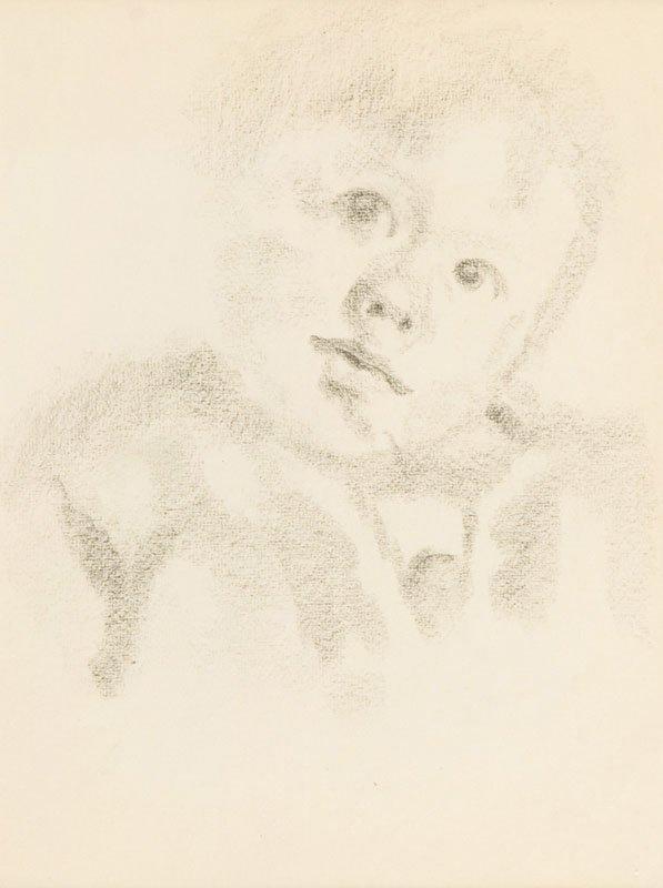 Jan Gotard (1898 Warszawa - 1943 Warszawa) Child's