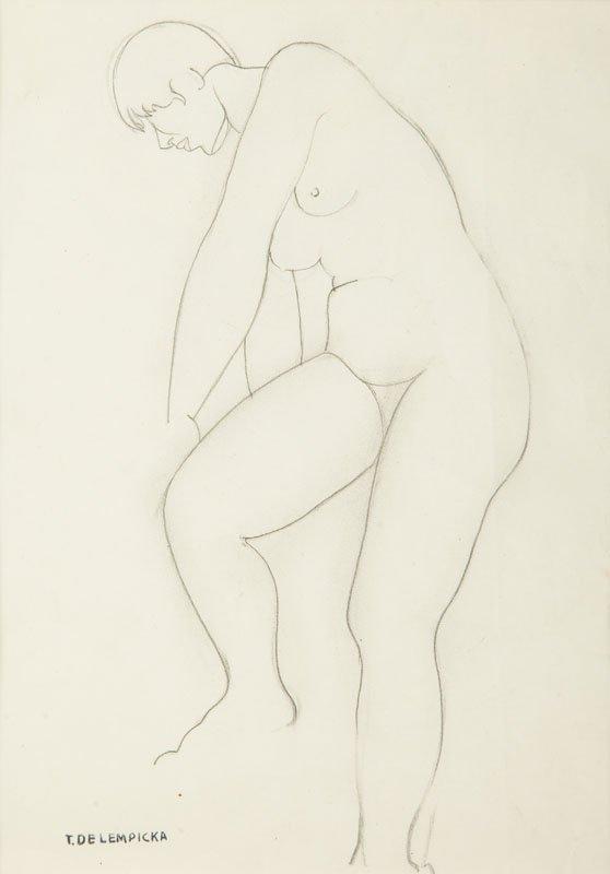 Tamara Lempicka (1895 lub 1898 Moskwa - 1980