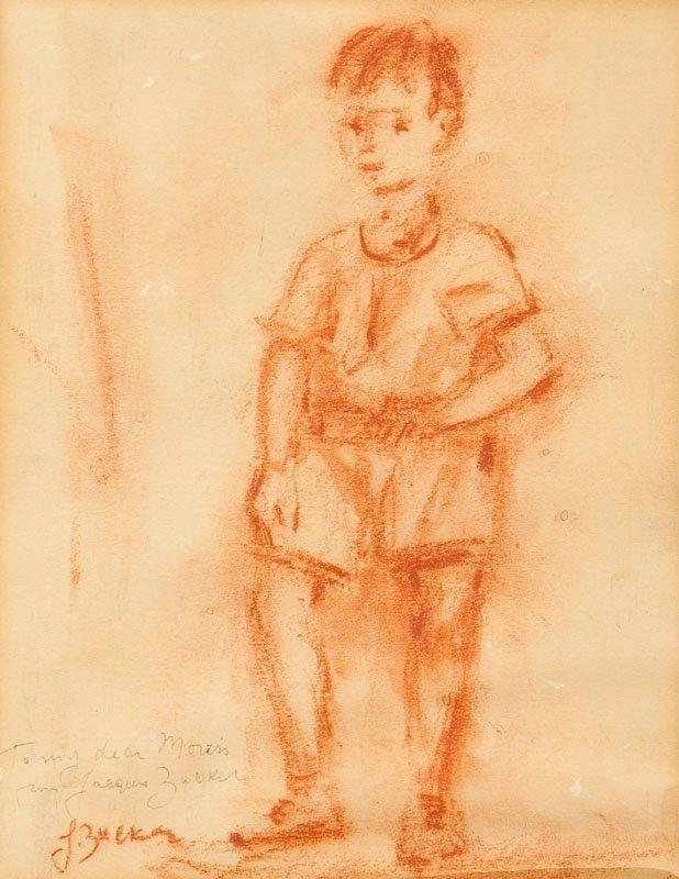 Jakub Zucker (1900 Radom - 1981 Nowy Jork)  A boy