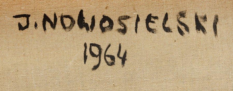 """Jerzy Nowosielski  (1923 Cracow - 2011 Cracow) """"Jordan"""" - 4"""