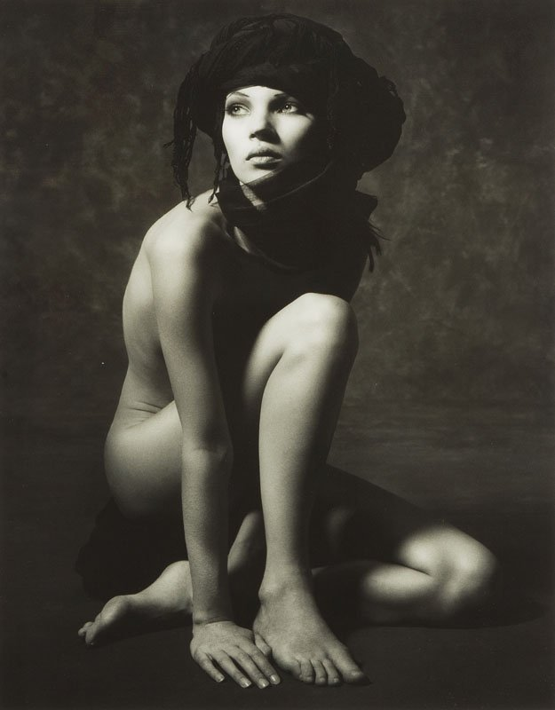Albert Watson, (b. 1942) , Kate Moss, lifetime print,