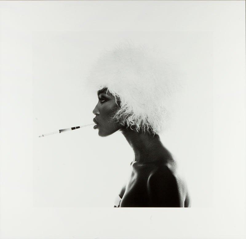 Michel Comte, (b. 1954 ), Naomi Campbell, lifetime