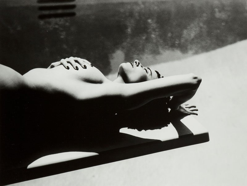 Michel Comte, (b. 1954 ), Mimi Rogers, lifetime print,
