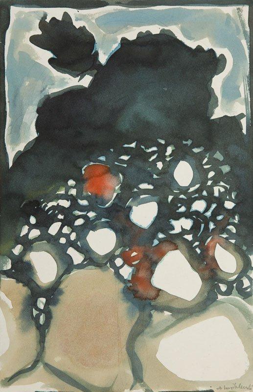 Andrzej Wroblewski (1927 - 1957), [Compostion, The