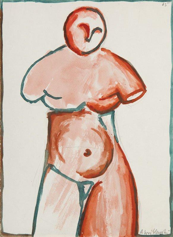 Andrzej Wroblewski (1927 - 1957),[Figural composition