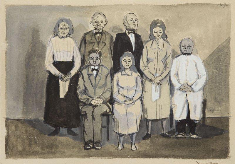 Andrzej Wroblewski (1927 - 1957),A family