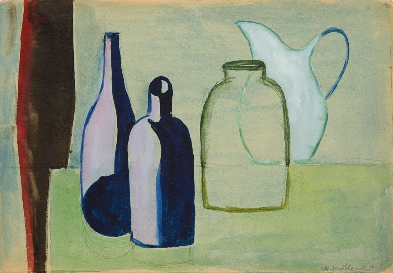 Andrzej Wroblewski (1927 - 1957),[Still life nr 110]