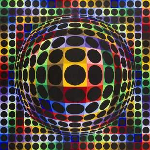 "Victor Vasarely (1906 - 1997) ""Vega-Orion"", 1971,"