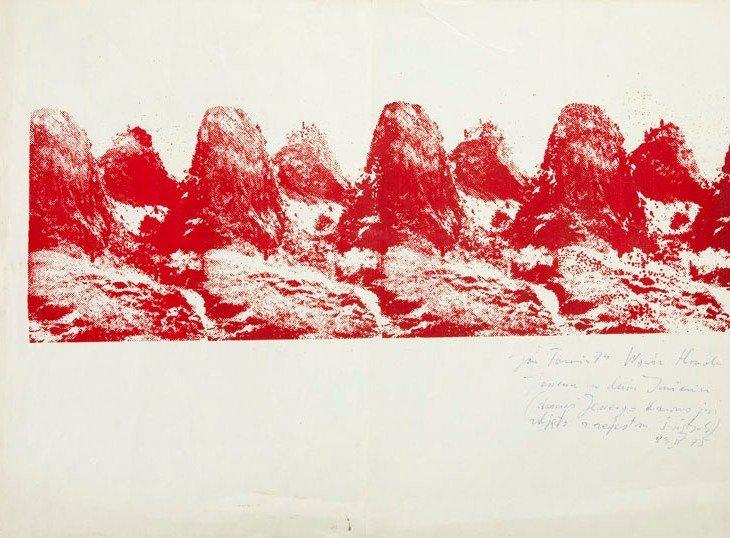 Jan Tarasin (1926 - 2009)  Homole Gorge, 1975, color
