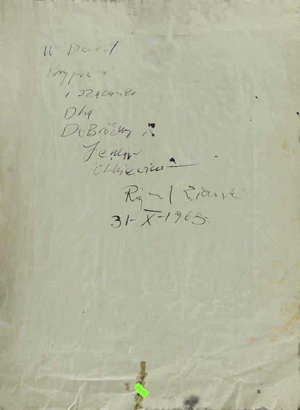 Rajmund Ziemski (1930 - 2005) Composition, 1963, - 3