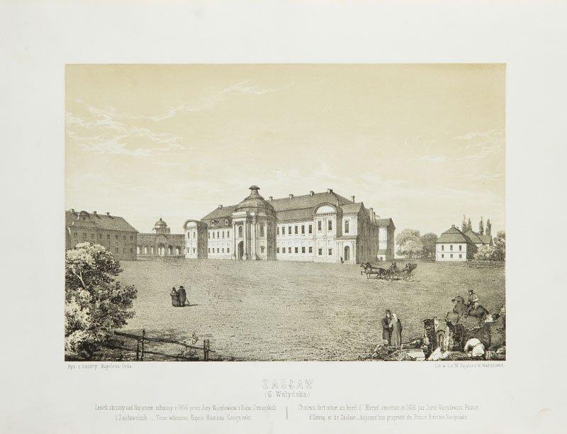 Napoleon Orda (1807 - 1883) Zaslaw, litography/paper,