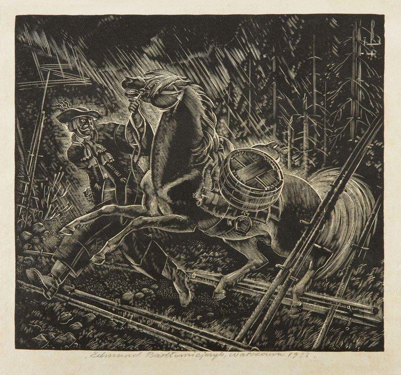 Edmund Ludwik Bartlomiejczyk (1885 - 1950) Storm, 1933