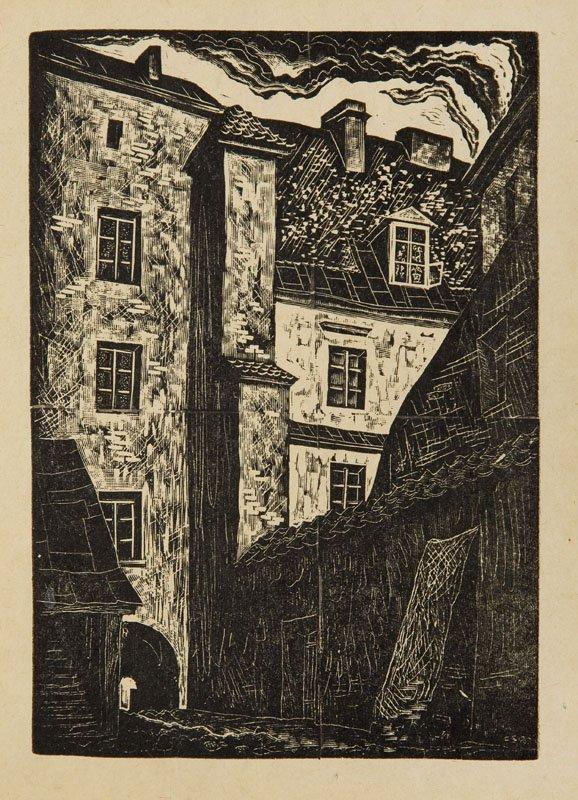 Tadeusz Cieslewski (syn) (1895 - 1944 ) Baryczka's
