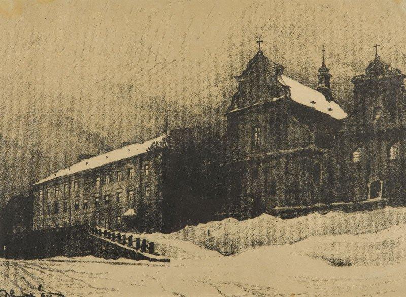 Odo Dobrowolski (1883 - 1917 ) Saint Lorenzo Church in