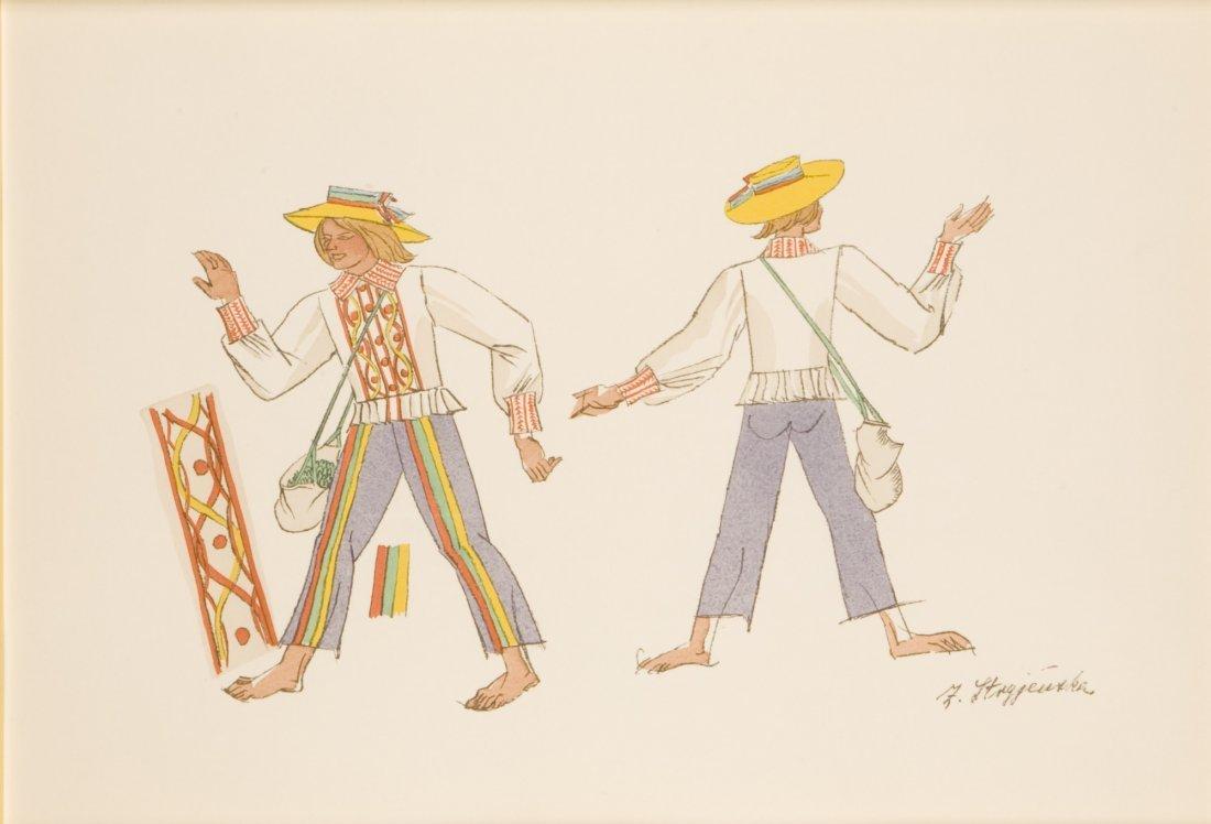 Zofia Stryjenska (1891 - 1976) (XXVI) Folk Costume -