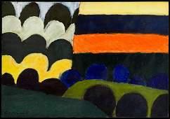 "Tadeusz Dominik (1928 - 2014) ""Landscape"", 1989"