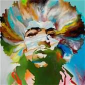 Monika Lakomska b 1968 VooDoo Child Jimi Hendrix