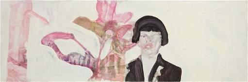 """Norman Leto (b. 1980) """"Portrait of a Cousin Hiding"""