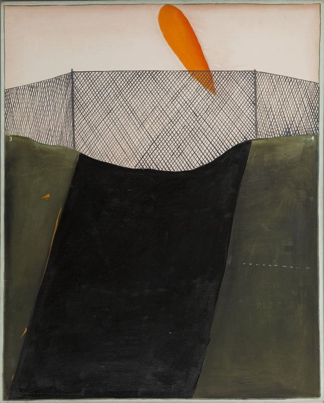 """Stanislaw Fijalkowski (b. 1922) """"May 9th 1975"""", 1975;"""
