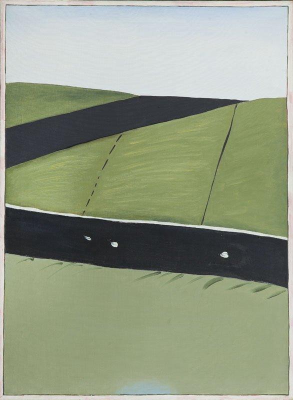 """Stanislaw Fijalkowski (b. 1922) """"Highway XXVII"""", 1975;"""