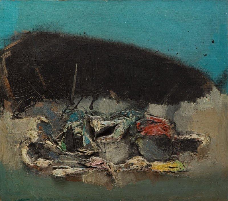 Tadeusz Kantor (1915 - 1990) Untitled, 1965; oil on