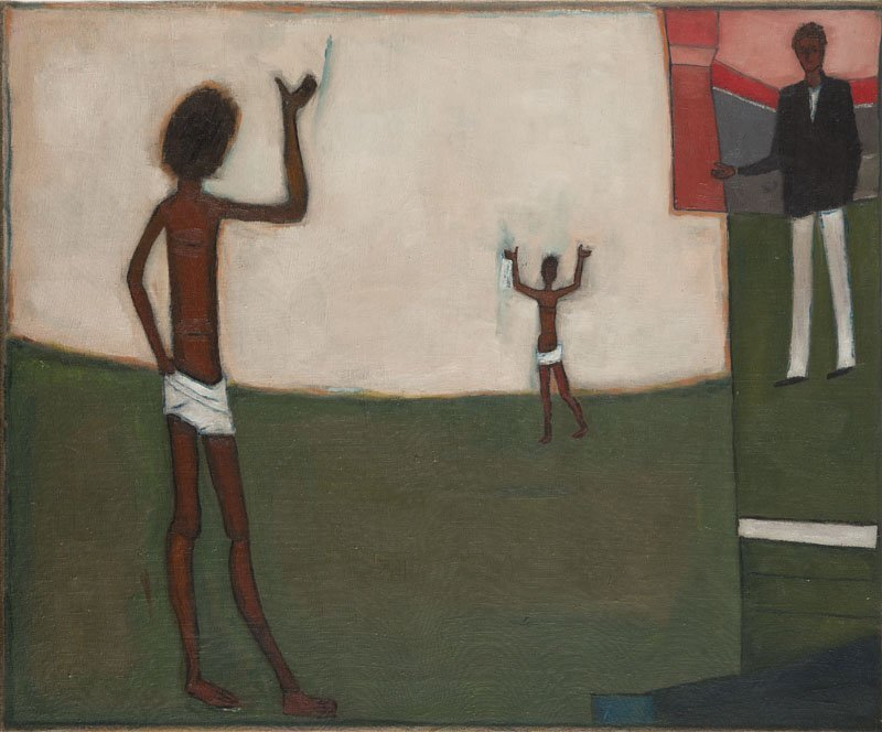 "Jerzy Nowosielski (1923 - 2011) ""Encounters in the"