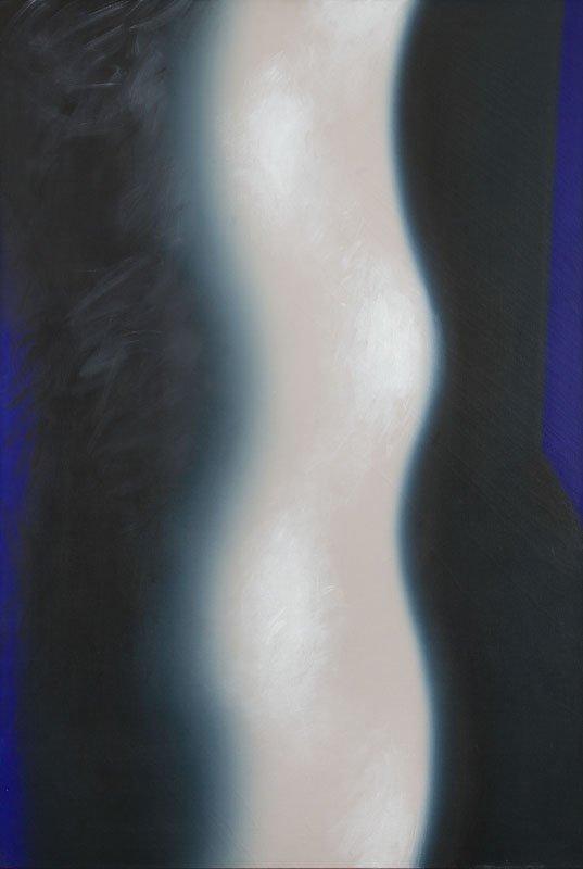 """Wojciech Fangor (1922 - 2015) """"SU 38"""", 1973; oil on"""