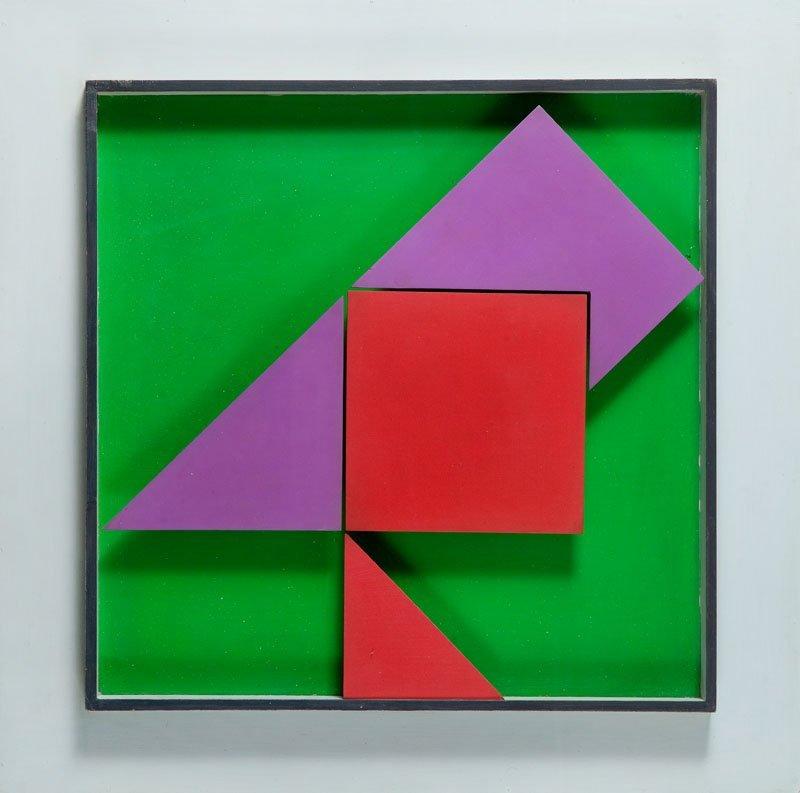 Henryk Stazewski (1894 - 1988) Relief no 31, 1969;