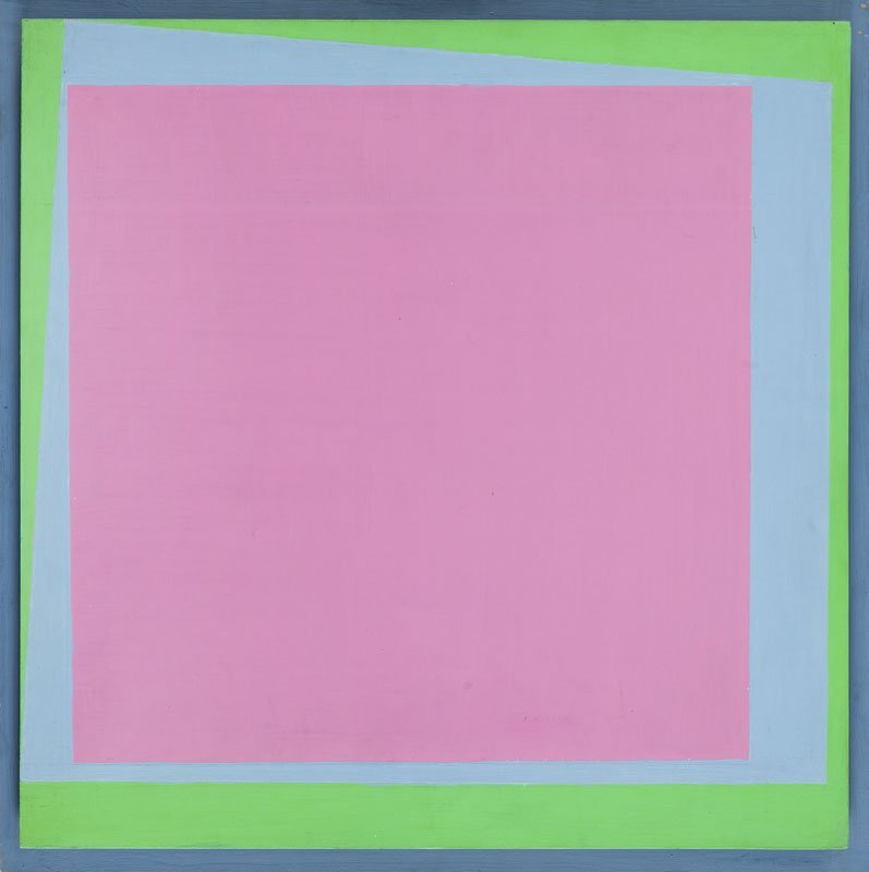Henryk Stazewski (1894 - 1988) No 73, 1976; acrylic,