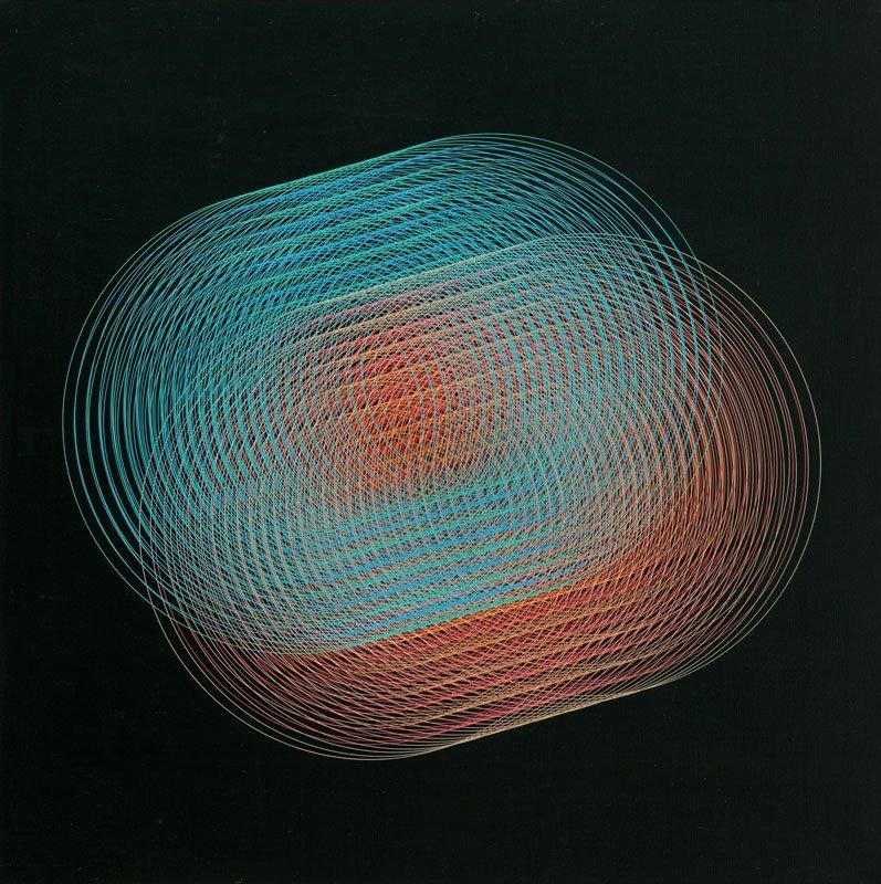 "Eduardo MacEntyre (b. 1929) ""Reflejos"", 1979; acrylic"