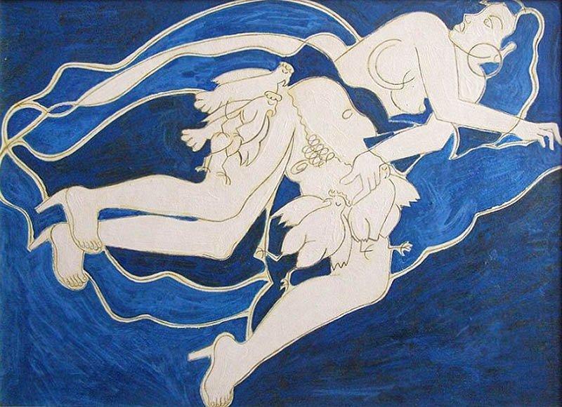 """Marek Sobczyk (b. 1955) """"The Gypsy Woman Steals"""