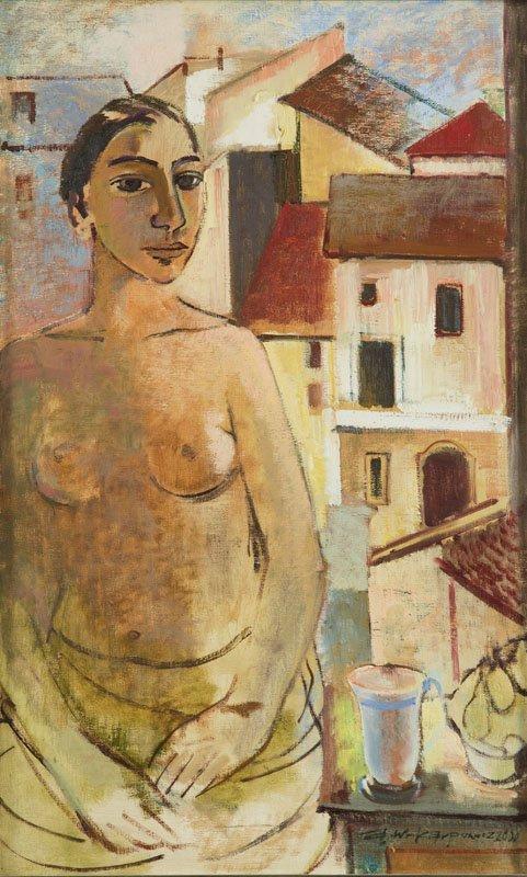 Anna Karpowicz-Westner (b. 1951) In Front of the Window