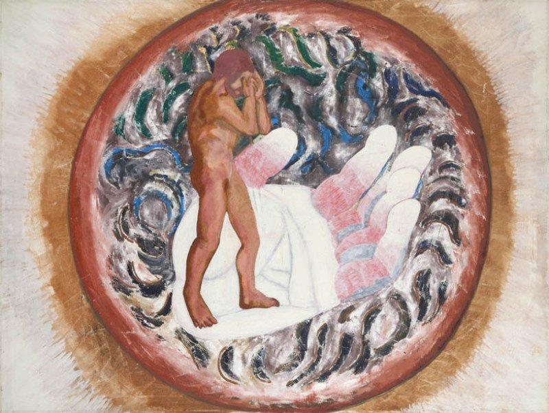 "Marek Sobczyk (b. 1955) ""A Plate of God and Wealth"","