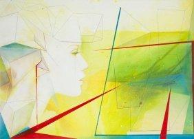 Alicja Kappa (b. 1973) Foretaste, 2016, Acrylic, Oil On