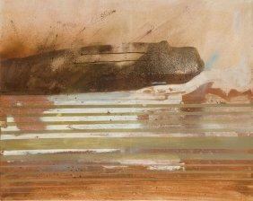 Michal Czerko (b. 1991) Divisions X, 2015, Acrylic,