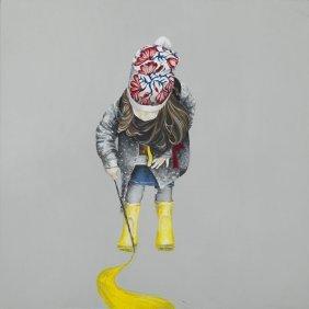 Milena Brudkowska (b. 1988) Untitled, 2016, Oil On