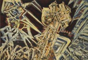 Jerzy Tchorzewski (1928 - 1999) Untitled, 1958/1962,