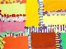 "Tadeusz Dominik (1928 - 2014) ""Landscape"", 2009; oil on"