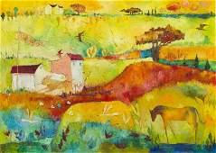 Agnieszka Pawlowska (b. 1982) Heat search, 2016, oil on